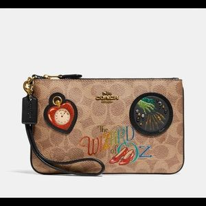 Coach wristlet wizard of Oz
